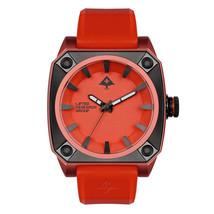 LRG Lifted Investigación Grupo Rojo Negro Cepillado Aluminio 45mm Calibre Reloj