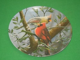 The Cardinal Collector Plate Signed Knowles Kevin Daniel Plate No 4364N - $12.82