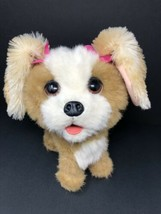 Furreal Friends Bouncy My Happy to See Me Puppy Dog 2011 Hasbro Tan Brow... - $12.34