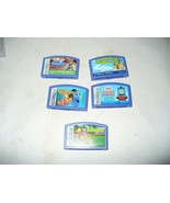 Leap Frog Game Cartridges Leapster LeapFrog Games Lot of 5 Disney Pixar ... - $9.78