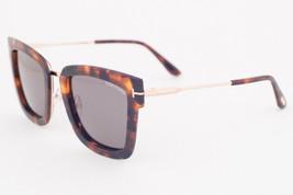 Tom Ford LARA Havana / Gray Sunglasses TF573 55A LARA-02 - $224.42