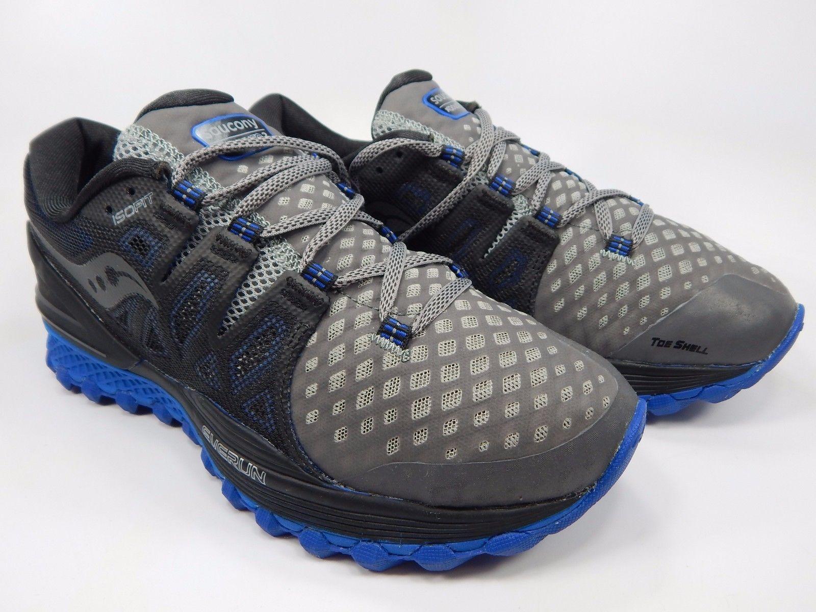 Saucony Xodus ISO 2 Men's Running Shoes Size US 9 M (D) EU 42.5 Gray S20387-2
