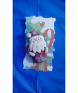 Santa Holiday Pin - $4.00