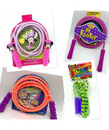 Jump Ropes Sports Plastic Handle 7 ft - 14 ft Skipping Jumping - $7.91+