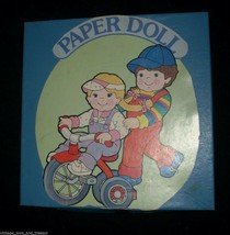 VINTAGE MY BUDDY KID SISTER A REAL PAL PAPER DOLL BOOK SET HASBRO W/ CLO... - $17.77