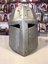 Silver Knights Helmet Fancy Dress - $32.70