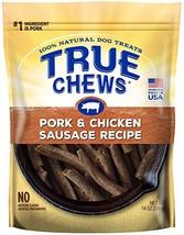 True Chews Pork & Chicken Sausage Recipe 14 oz - $13.53
