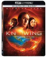 Knowing  [4K Ultra HD+Blu-ray] - $11.95