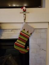 Handmade Elf Christmas Stocking - $25.00
