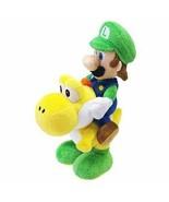"Nintendo Little Buddy 1255 Super Mario Series - Luigi Riding Yoshi Plush 8"" - $21.62"
