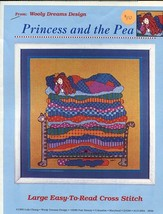 Princess and the Pea Wooly Dreams Designs NEW Cross Stitch Pattern - $5.37