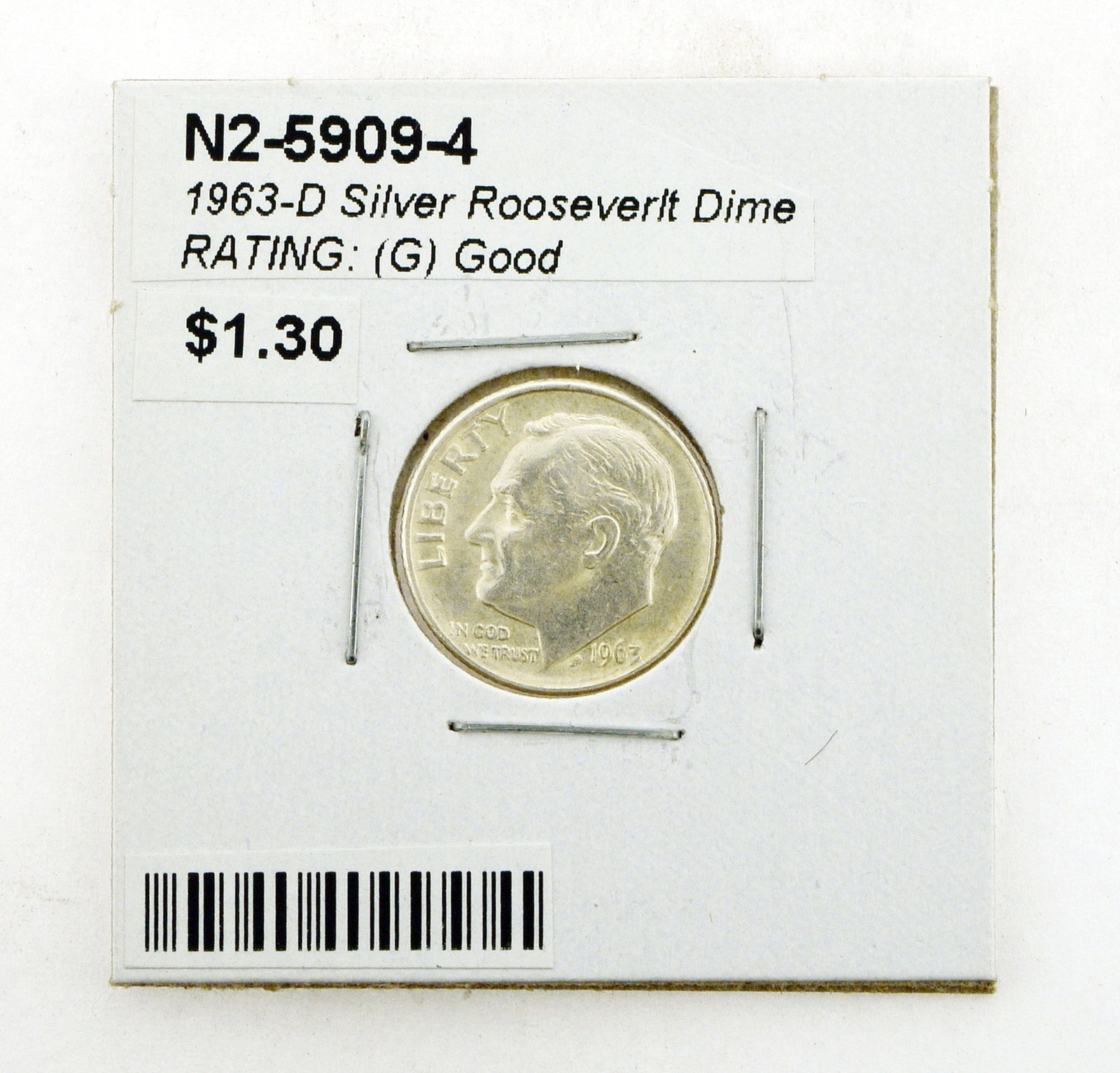 2019 S 10C Roosevelt Dime Proof Clad Deep Cameo In Stock!