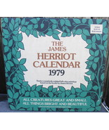 James Herriot Calendar 1979 All Things Bright and Beautiful All Creature... - $24.99