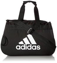adidas Diablo Small Duffel  Gym Bag  Black White Sports Athletics Workout - $35.52