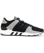 NEW $160 Adidas Originals EQT Support RF Primeknit Sneakers Black White ... - $82.47