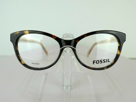 Fossil FOS 6044 (HIQ) Havana 52 X 16 140 mm Eyeglass Frames Eyewear - $47.96