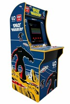 Arcade1Up Space Invaders Retro 4ft Home Arcade Video Game Cabinet New in Box