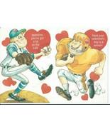 Vtg Baseball Football Player Children's Valentine's Day Cards Hallmark U... - $6.00