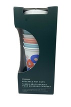 Starbucks 6ct 16 oz Reusable Spring Easter 2020 Hot Cups - $26.83