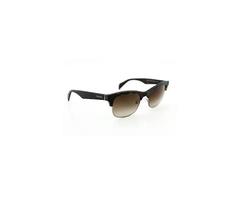 Prada Sunglasses SPR 11P c. HAQ6S1 in Matte Tortoise & Gunmetal w/ Gradient lens - $168.29