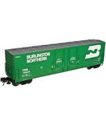 HO Scale - Atlas Evans 53' Double Plug-Door Boxcar Burlington Northern 7... - $24.74