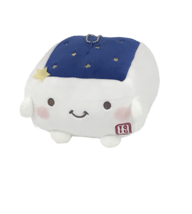 Tofu Cushion Hannari  Star Series Navy Stuffed Toy Cushion Size M Japan ... - $56.73 CAD