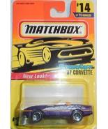 "Matchbox New Look 1997 Super Fast ""'87 Corvette"" #14/75 Mint On Sealed ... - $4.00"