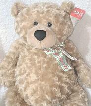 GANZ HX11091 Hayden Light Brown 26 Inch Polyester Fiber Cuddly Bear image 2