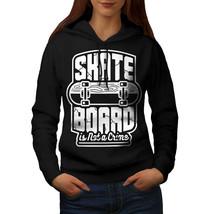 Skate Board Sweatshirt Hoody Street Style Women Hoodie - $21.99+