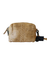 Day and Mood Unica Camel Leather Crossbody Shoulder Bag Anthropologie NWT - $45.00