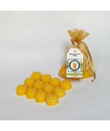 12 Piece Citronella Scented Beeswax Melts Hand Poured by Hubbardston Can... - $16.99