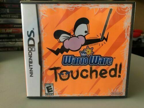 Wario Ware Touched (Nintendo DS, 2005) Brand New and Sealed