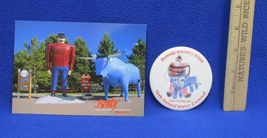 Paul Bunyan & Babe Color Book Bemidji MN Water Carnival Button Post Card Lot 3 image 5