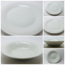 Gibson Designs All White Dinnerware Collection (Embossed Dots) - $9.89+