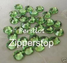 72 Swarovski Crystal Rhinestones ~ 30ss ~ Peridot - $12.37