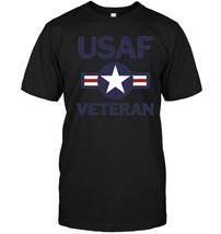 USAF Vintage Roundel Veteran T Shirt - ₹1,288.26 INR+