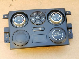 06 Suzuki Grand Vitara Air AC Heater Climate Control Panel 39510-65J23-CAT image 1