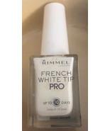 Rimmel Nail Polish French White Tip  # 110 New Full Size Bottles - $7.73