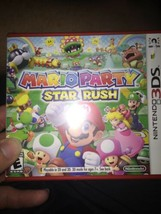 Mario Party: Star Rush (Nintendo 3DS, 2016) New Factory Sealed - $26.60