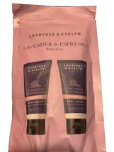 (1) Crabtree & Evelyn Lavender & Espresso body Care - $28.04