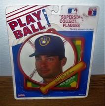MLB Baseball Play Ball Superstar Collectible Plaque Paul Molitor - $12.79