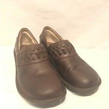 UGG Australia Anila Womens Shoes 1005427 Brown Leather Clogs Slip On Size 7 - $56.05