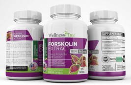 Pure Forskolin 3000mg Max Strength - Forskolin Extract for Weight Loss  - $11.99