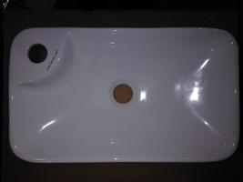 """8GG93 Caracalla Rectangular Sink, 17-1/2"""" X 10-1/4"""" X 4-1/8"""", Good Condition - $87.99"""