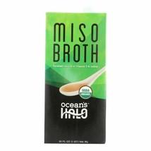 Ocean's Halo Broth Miso  - Case Of 6 - 32 Fz - 45441805 - $46.97
