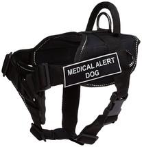 Dean & Tyler Black w/Reflective Trim Fun Dog Harness, Medical Alert Dog,... - $32.75
