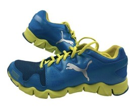Puma Womens Shoes Blue And Yellow Size 9  Pre Owned Free Ship US Only - $36.62