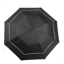 112cm visible double layer two fold auto open golf umbrellas hex-angular... - $35.93