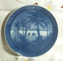 Wall Plate 1972 Royal Copenhagen Denmark Osterland in the Desert - 7 1/4""