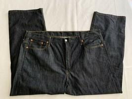 Levi 569 Dark Blue Men's Regular Fit Jeans Sz 42 X 30 Nwt New - $26.59